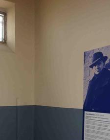 Cellule de Jean Moulin au Mémorial de la prison de Montluc@D.R