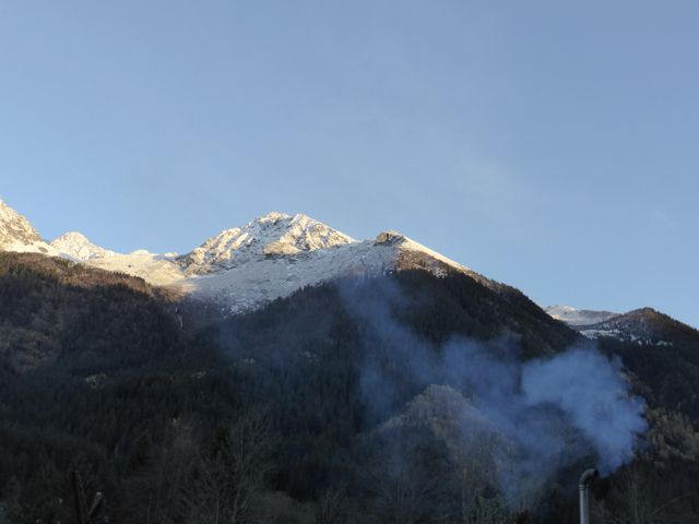 Paysage de montagne de la Vallée du Haut Bréda.