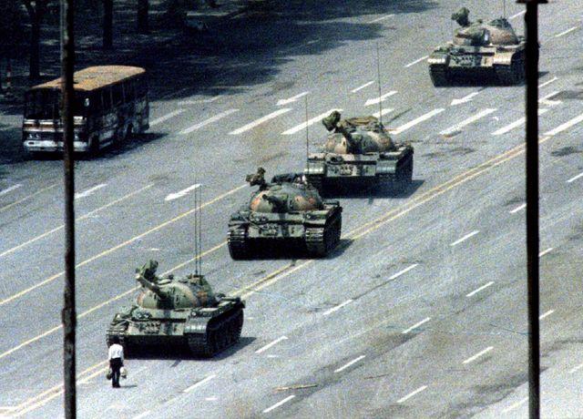 Place Tian'anmen - 5 juin 1989