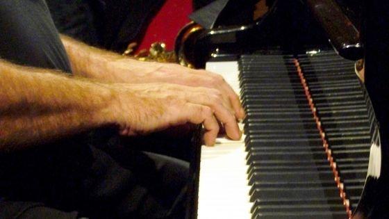 Les mains d'Andy Emler © Emmanuelle Lacaze