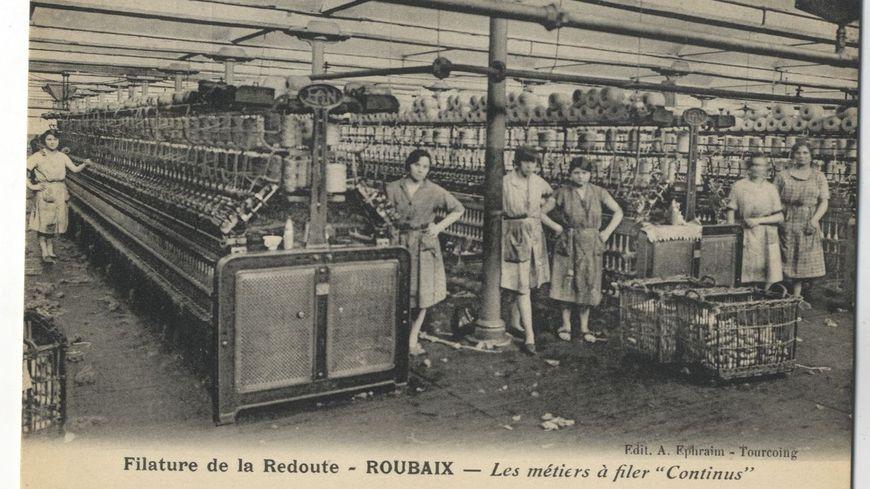 La Filature de la Redoute en 1929