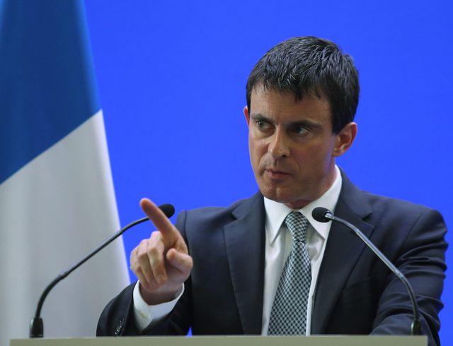CORSE - Visite de Manuel Valls à Ajaccio