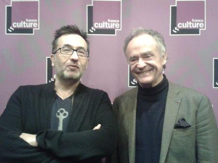 Renaud Machart et Jean-Claude Casadesus