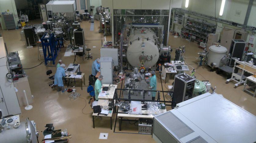IAS Vue d'ensemble du labo d'étalonnage