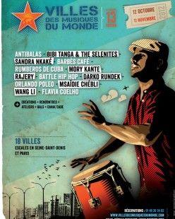 FANTANI TOURE, LO'JO - Reportage réalisé au Festival Villes des Musiques du Monde en Seine-St Denis (2/2)