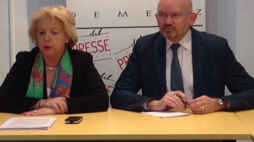Marie-Jo Zimmermann, chef de file UMP à Metz pour les municipales