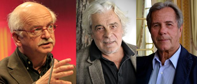 Erik Orsenna, Jacques Weber & Jean-Louis Debré