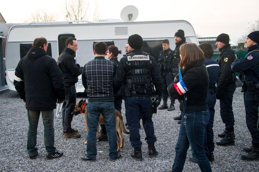 Vaste coup de filet des gendarmes contre des cambrioleurs présumés