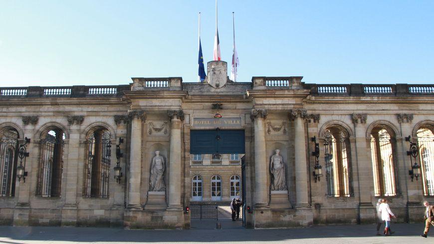 La mairie de Bordeaux (illustration).