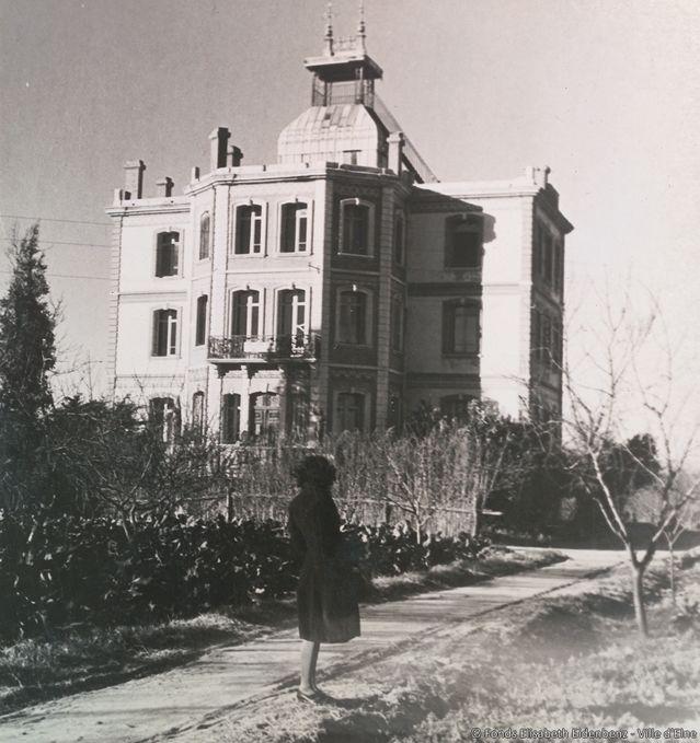 La maternité d'Elne pendant la deuxième guerre mondiale.