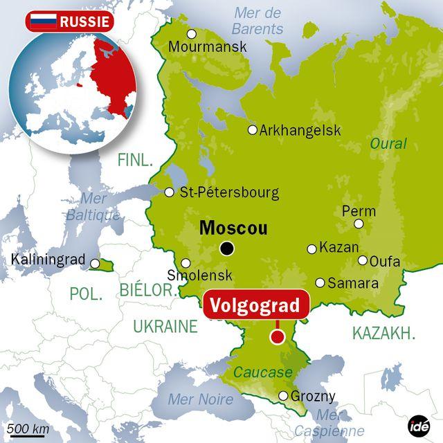 Russie : 18 morts dans un attentat-suicide à Volgograd