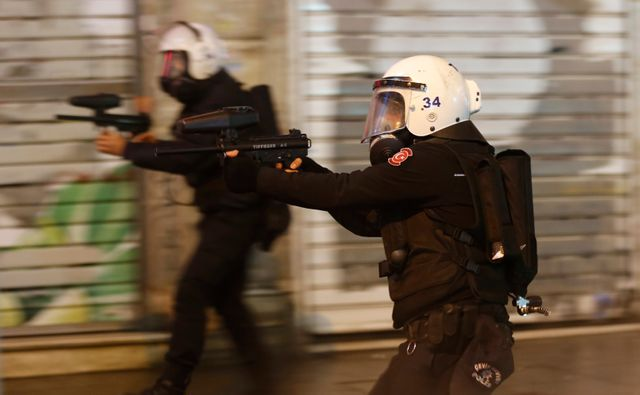 Turquie : des heurts à Istanbul