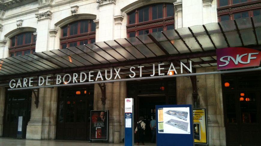 La gare de Bordeaux aujourd'hui.