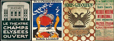 100 ans d'histoire du Théâtre des Champs Elysées (1/2)