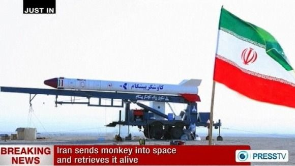 Iran Plans To Send Monkey Into Space