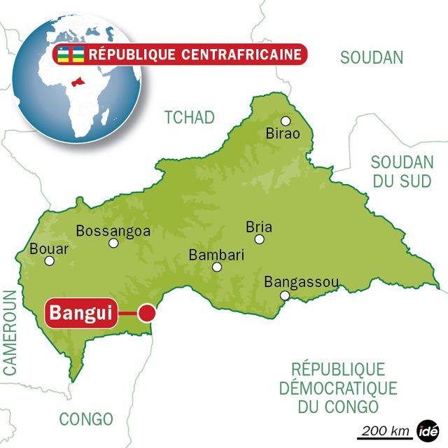 Bangui en Centrafrique