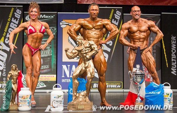 Les trois gagnants de la compétition organisée à Hambourg ce week-end (Alexandre Piel à droite).