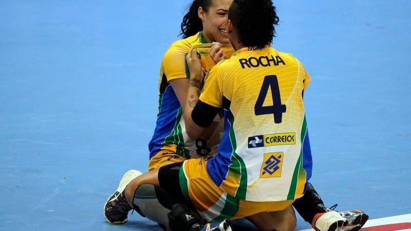 Samira Rocha est devenue championne du monde avec le Brésil