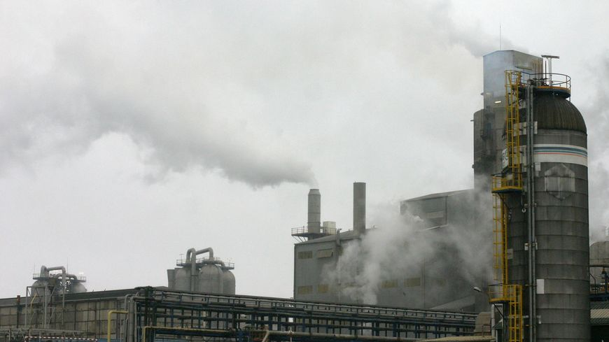 L'usine Boréalis (ex Grande Paroisse) à Grand-Quevilly