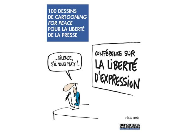 100 dessins Cartooning for Peace