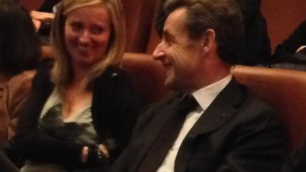 Nicolas Sarkozy était au Vinci, à Tours, pour assister au concert de Carla Bruni