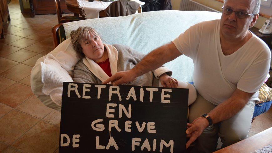 Patrick Sabre et sa femme, déterminés à être aidé par leur fils