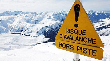 Risque d'avalanche (illustration).