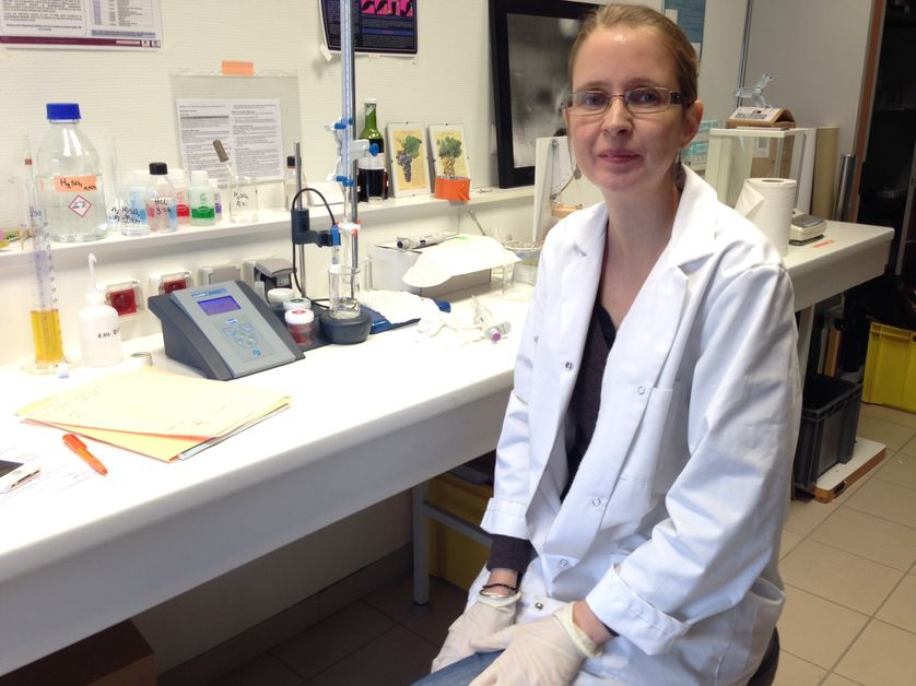 La biochimiste Clara Cilindre