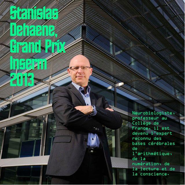 Stanislas Dehaene, Grand Prix Inserm
