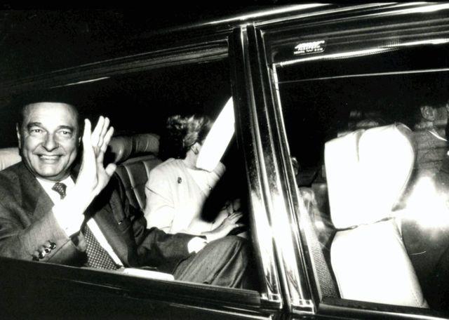 Chirac à Paris