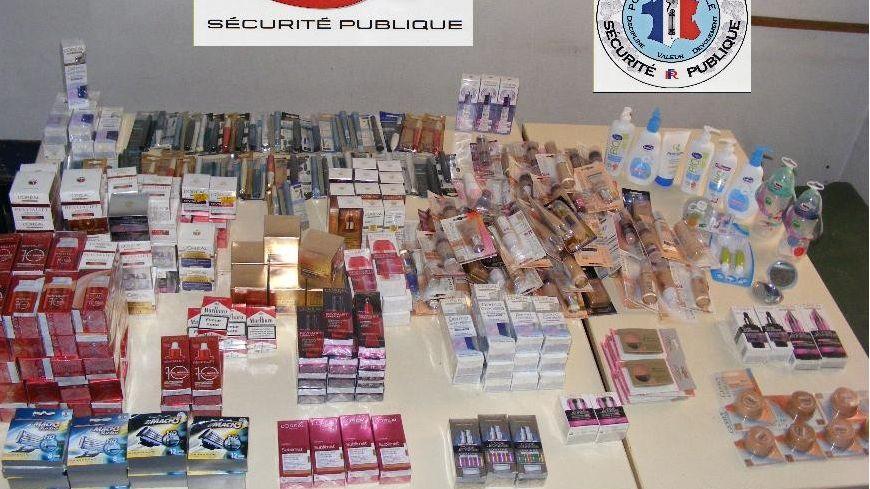 4200 euros de produits cosmétiques saisis