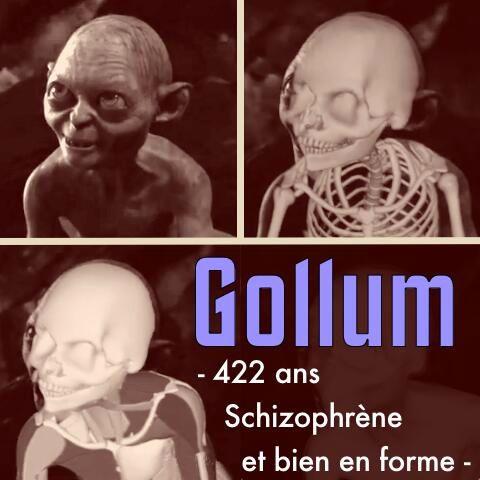 Gollum et la science