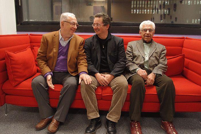 Adel Rifaat, Jean-Yves Moisseron et Baghat Elnadi