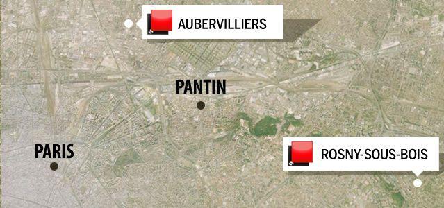 Carte jeu des 1000 euros - Seine-Saint-Denis