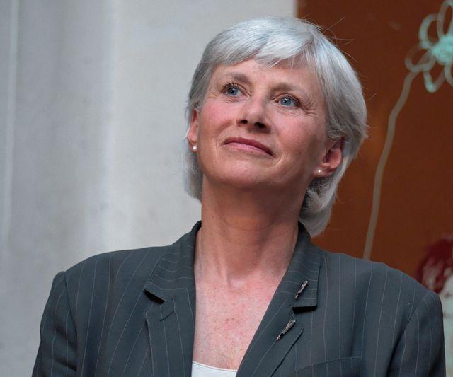 Françoise de Panafieu à un meeting de soutien à Lynda Asmani le 23 mai 2007