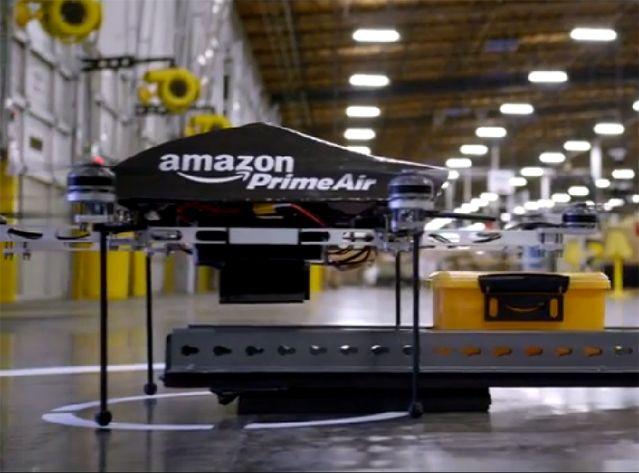 Chérie, le drone d'Amazon veut une signature !