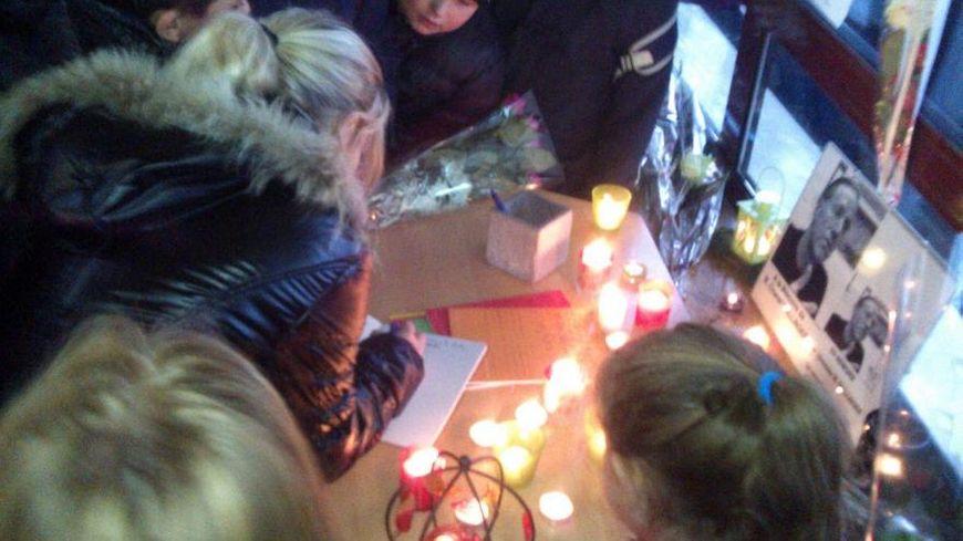 Cérémonie de recueillement à l'école Paul Verlaine de Woippy