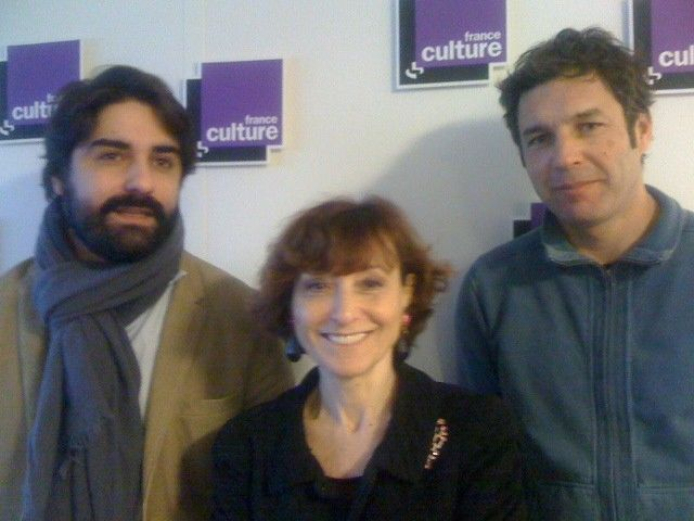 Fabrice Arfi, Noëlle Lenoir, invités, et Emmanuel Leclère de la rédaction