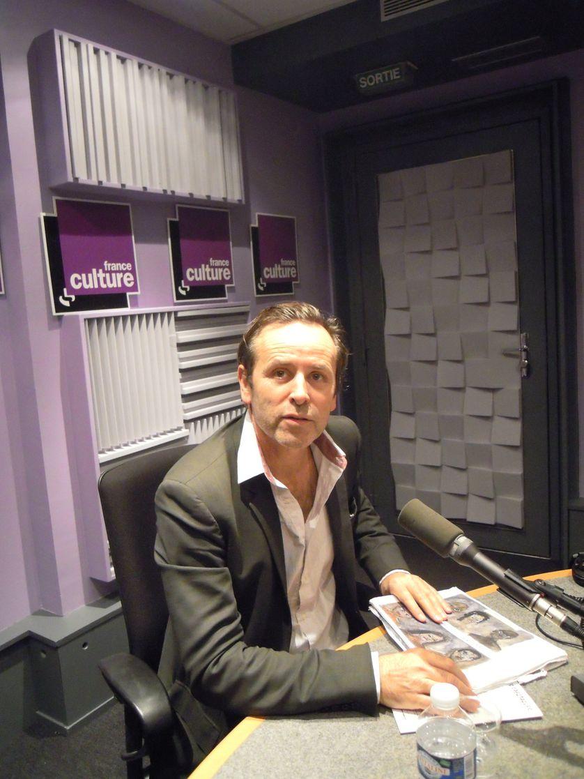 Jacques Allaire au studio 131 de la Maison de Radio France