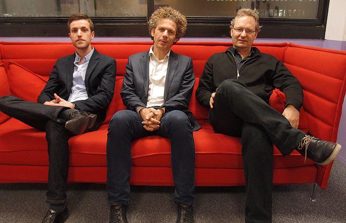 Vincent Puren, Gilles Babinet et Ariel Kyrou
