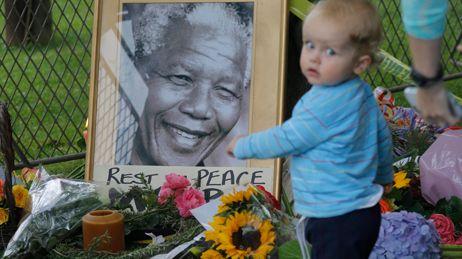 Mandela mort hommage afrique du sud