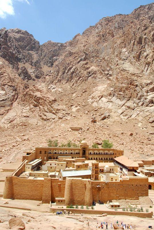 Monastère de Sainte Catherine du Mont Sinaï en Égypte