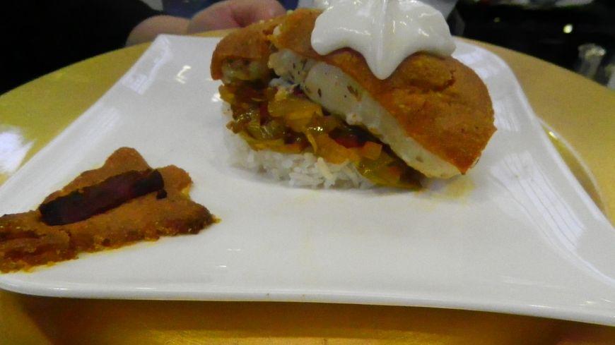 La recette du jour : Cabillaud à la croûte de chorizo
