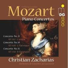 MOZART : Concerto pour piano n°21 KV467 - avec Jean-Pierre Derrien, Dominique Merlet et Vincent Warnier