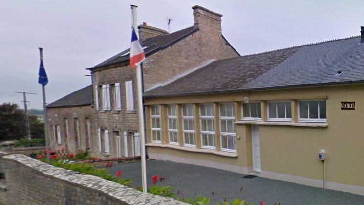 La mairie de Picauville (capture d'écran).