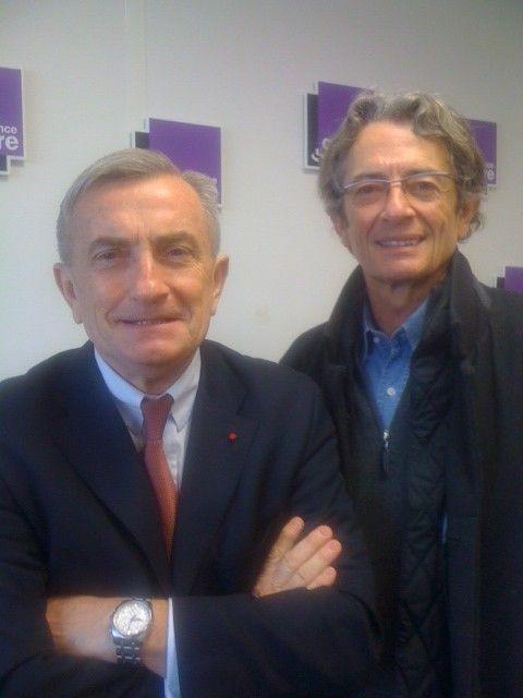Le général Vincent Desportes et Antoine Glaser
