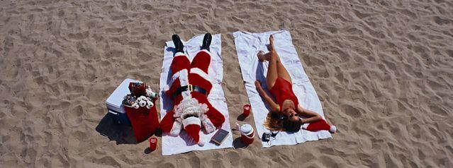 Le père Noël se repose