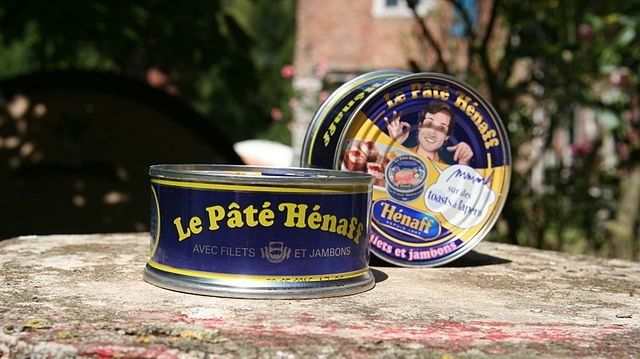 Le pâté Hénaff