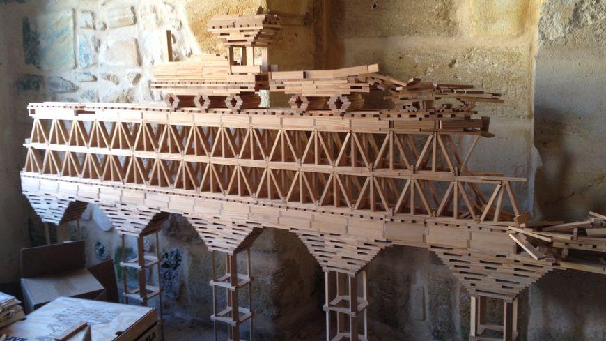 La principe du jeu est simple, les constructions plus complexes...