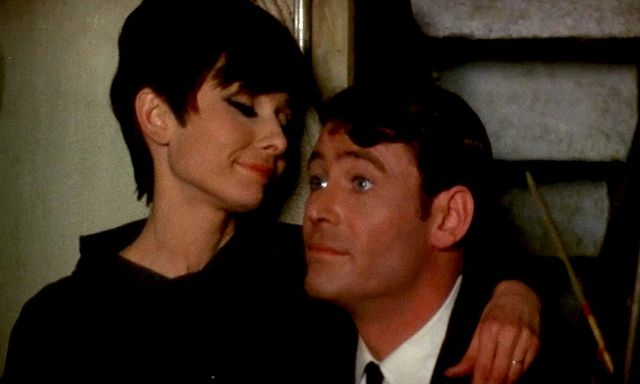 Audrey Hepburn et Peter O'Toole, ''How To Steal A Million'' 1966